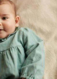 Mango Kids jurk + broekje groen, Groen