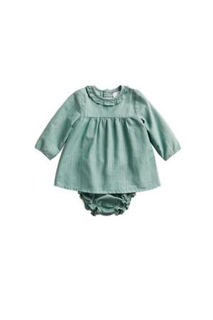 jurk + broekje groen