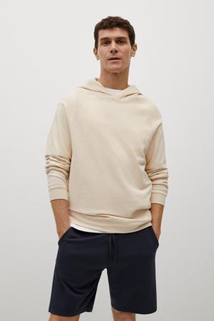 hoodie lichtbeige
