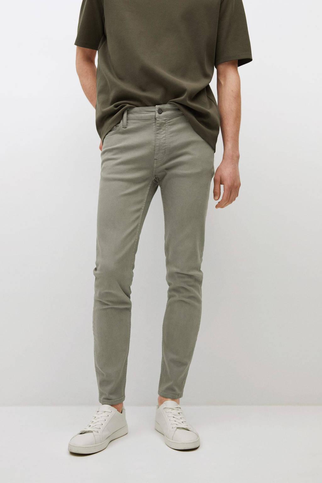 Mango Man skinny jeans changeant grijs
