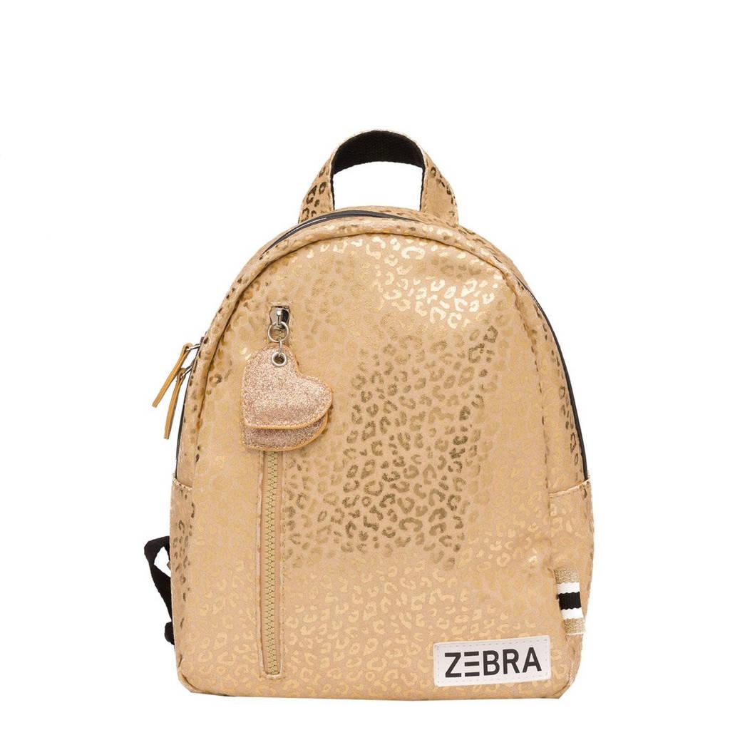 Zebra Trends  rugzak Gold Metallic Leo S goudkleurig, Goud