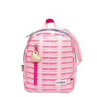 Zebra Trends  rugzak Sweetheart S roze, Roze