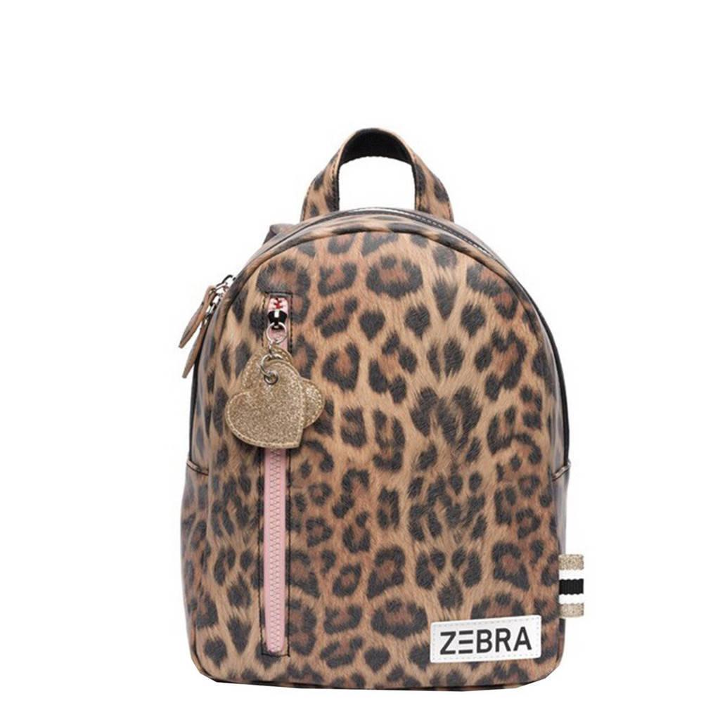 Zebra Trends  rugzak Leo S lichtbruin, Lichtbruin