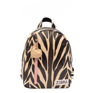 rugzak Zebra S oranje/zwart