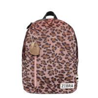 Zebra Trends  rugzak Soft Leo M bruin/roze, Bruin/roze