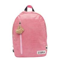 Zebra Trends  rugzak Croco M roze, Roze