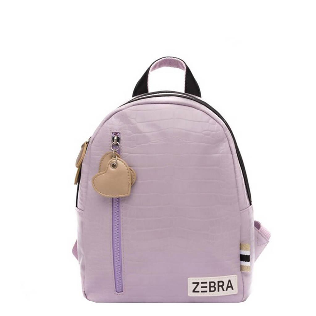 Zebra Trends  rugzak Croco S lila, Lila