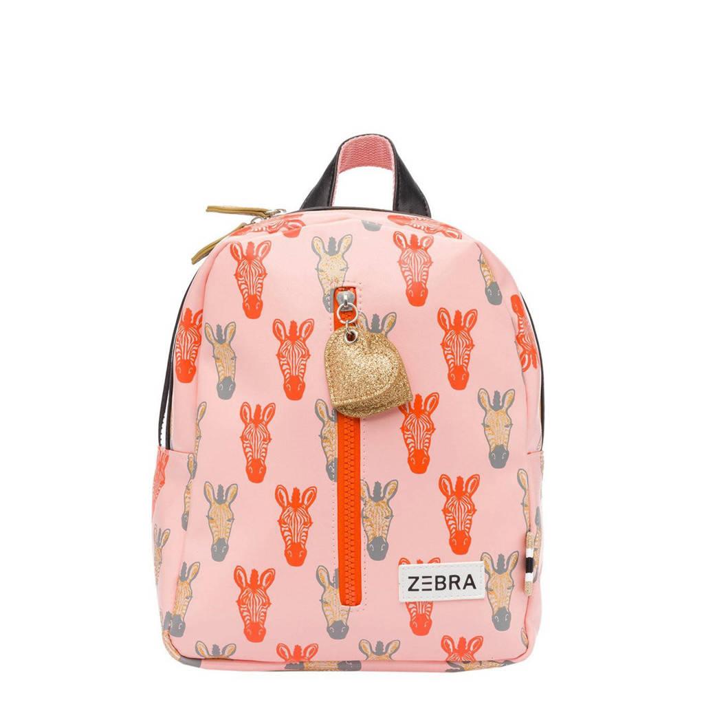 Zebra Trends  rugzak Zebra S koraalrood, Roze