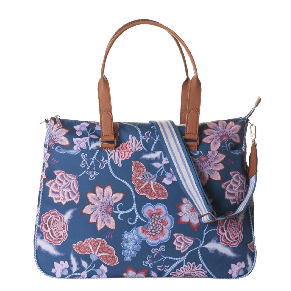 Oilily  handtas Royal Sits Carry All blauw, Blauw