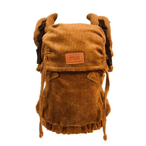 Click Carrier Deluxe draagzak Rib Mustard Brown