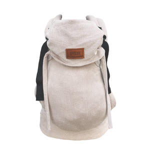 Click Carrier Deluxe draagzak Rib Almond Sand