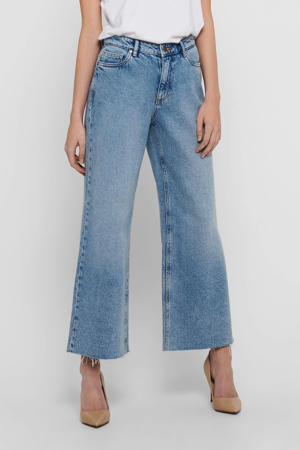 high waist loose fit jeans ONLSONNY lichtblauw