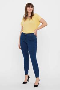 VERO MODA CURVE slim fit jeans VMLUDY dark denim, Dark denim