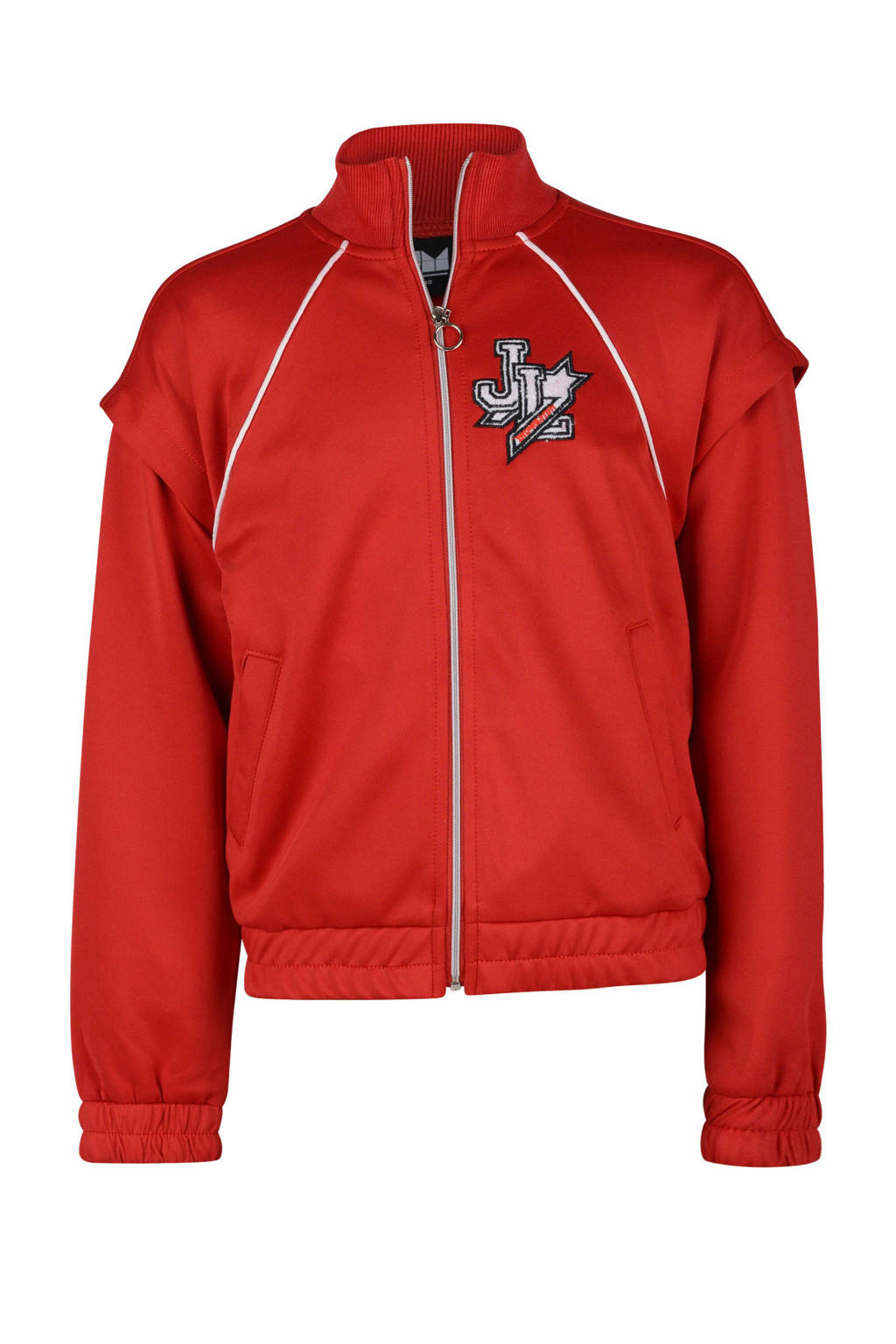 Shoeby Jill & Mitch vest Libbia met logo rood, Rood