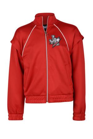 vest Libbia met logo rood