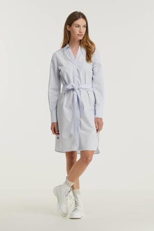 jurk van biologisch katoen lichtblauw