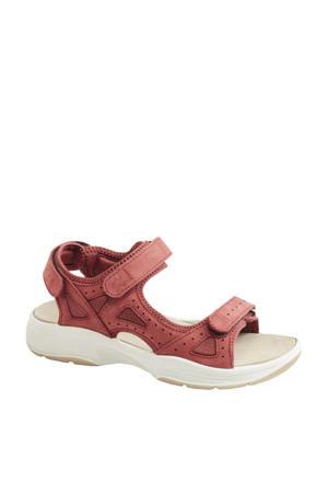 Hamburg  nubuck outdoor sandalen rood