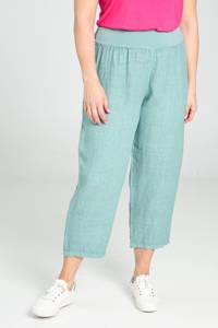 Paprika cropped straight fit broek lichtblauw, Lichtblauw
