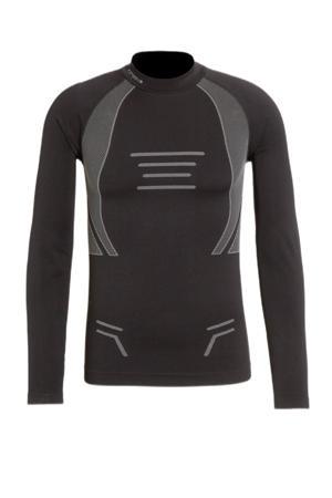 thermoshirt Irondale zwart/grijs