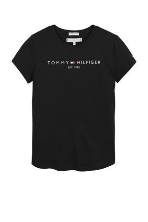 unisex T-shirt van biologisch katoen zwart