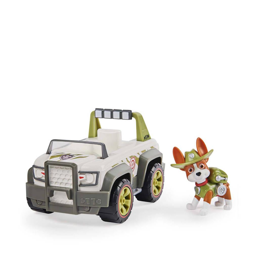 Paw Patrol  voertuig met pup Tracker, Meerkleurig