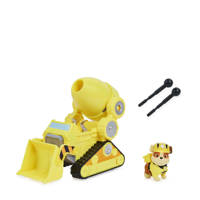 Paw Patrol  The Movie Deluxe Basic Vehicle - Rubble, Geel