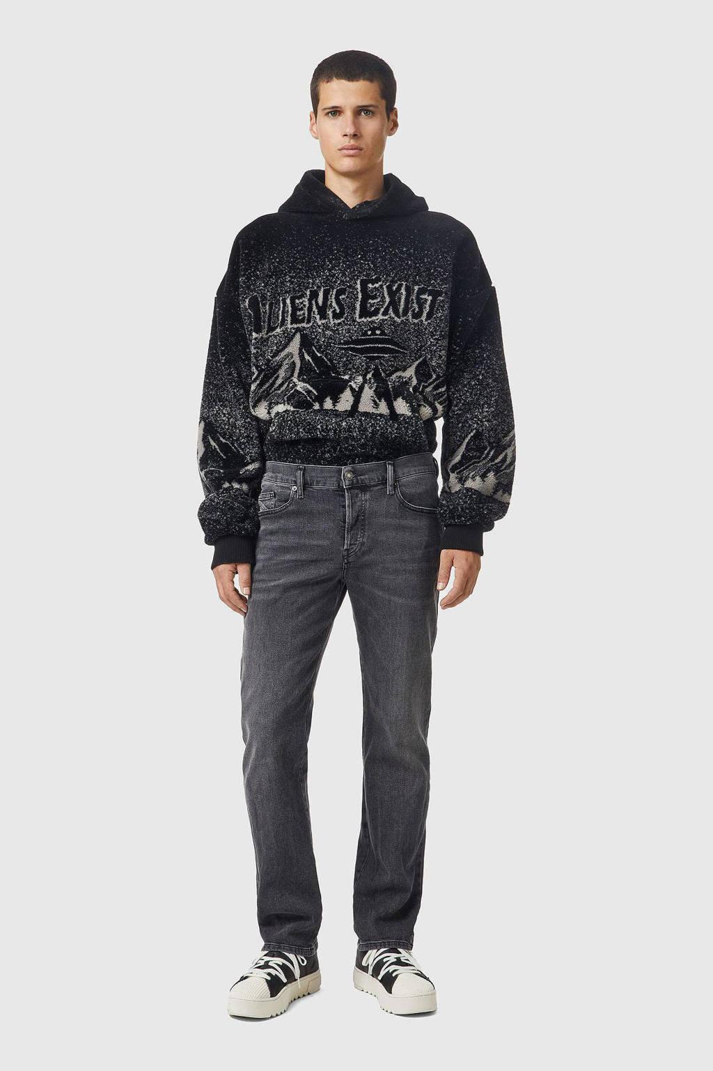 Diesel straight fit jeans D-MIHTRY 02 black denim, 02 Black Denim