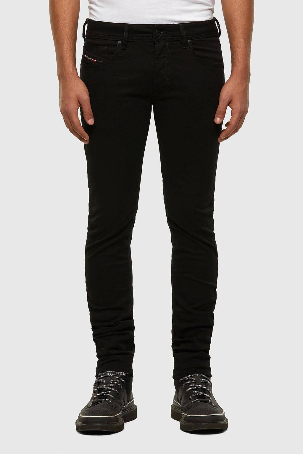 Diesel skinny jeans SLEENKER-X zwart, Zwart