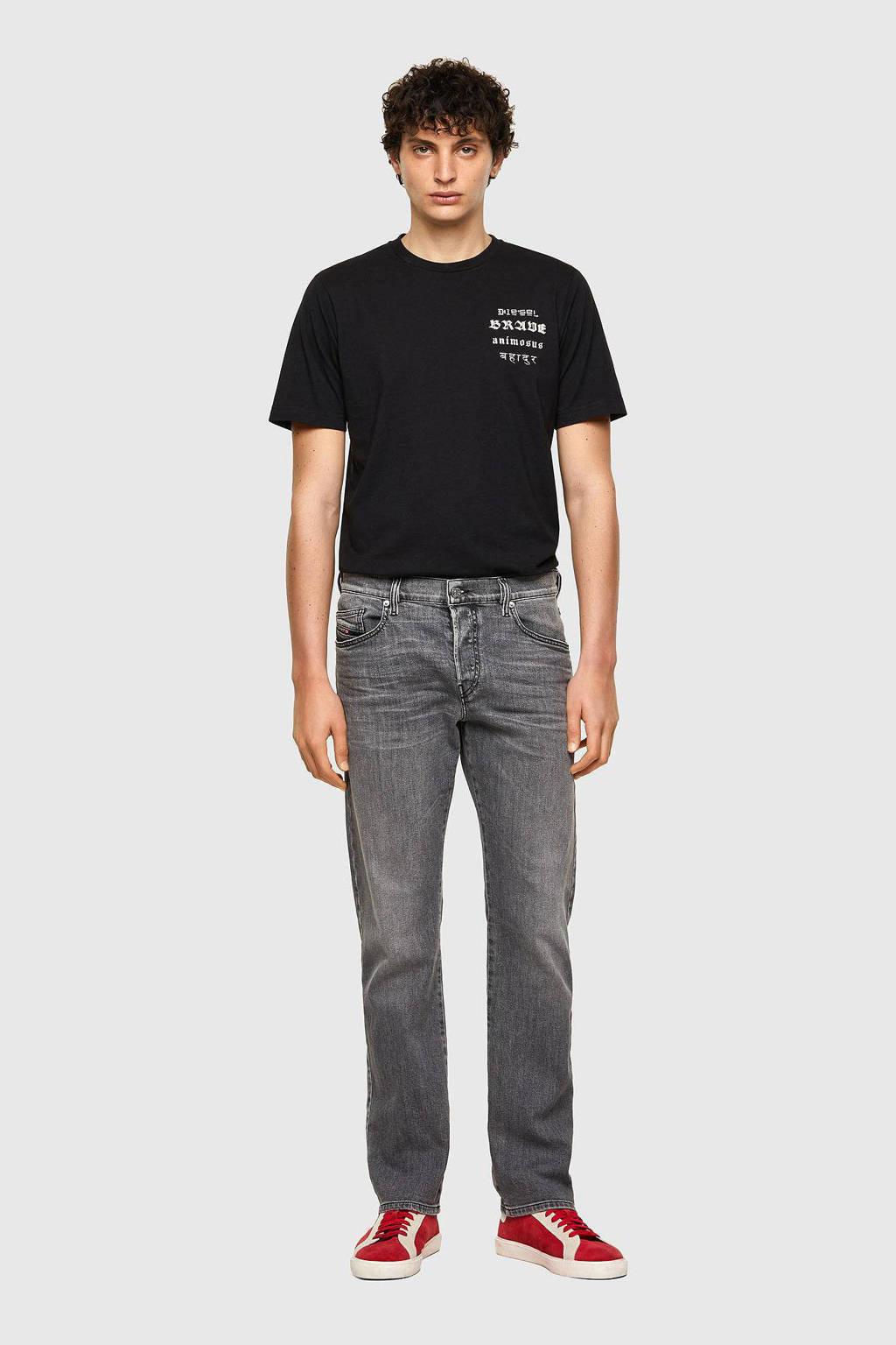 Diesel straight fit jeans D-MIHTRY black denim, Black denim