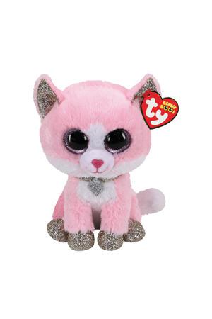 Beanie Boo's Fiona Pink Cat 15cm knuffel 15 cm