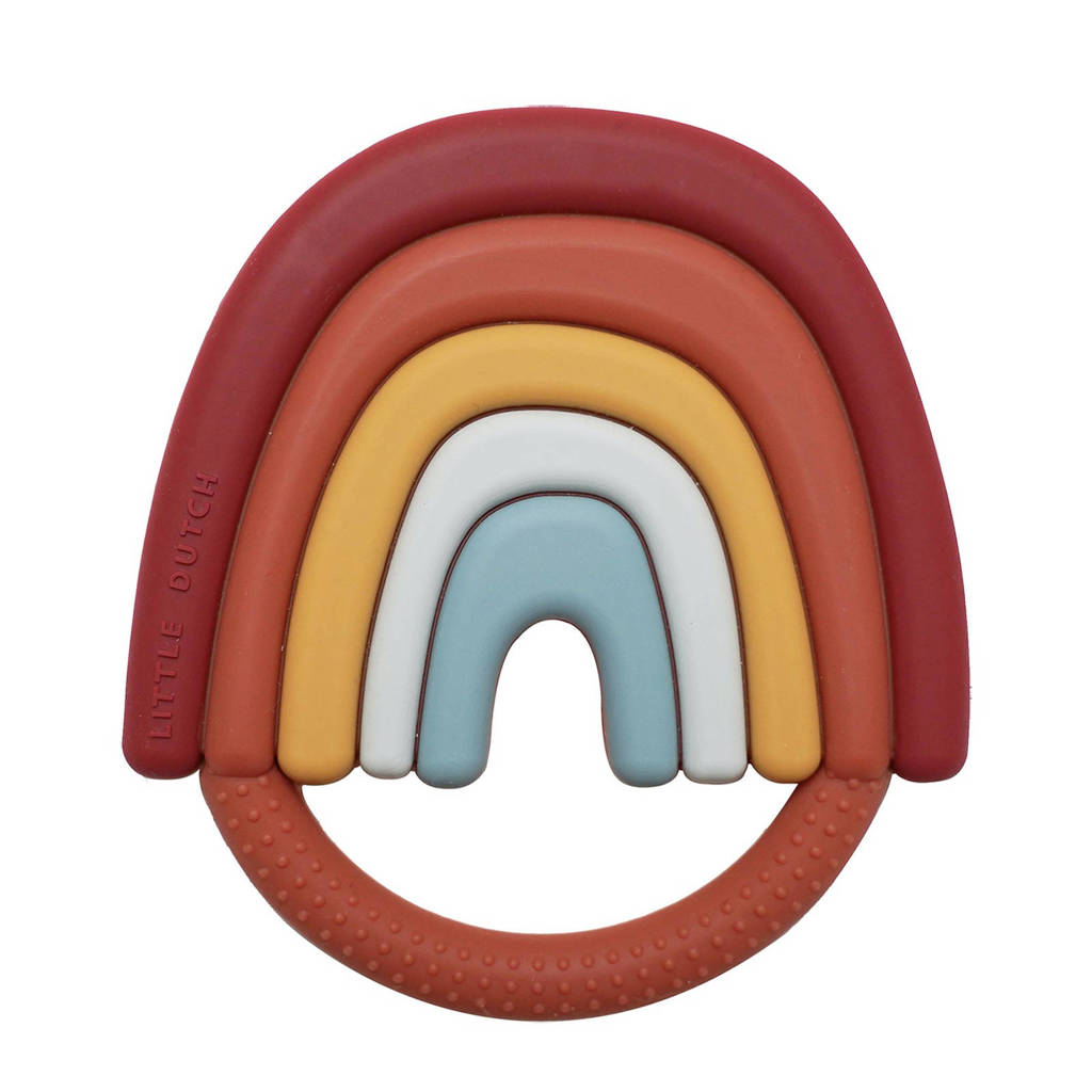 Little Dutch Silicone Rainbow Teether