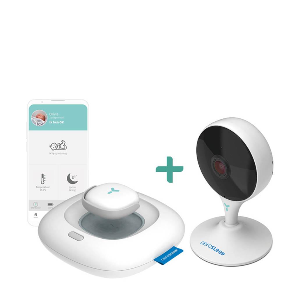 AeroSleep Oyo combi Smart Baby Monitor + WIFI camera, Wit