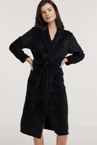 ten Cate fleece badjas zwart, Zwart