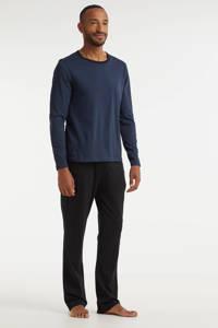 ten Cate pyjama donkerblauw/zwart, Donkerblauw/zwart