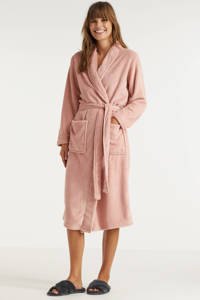 ten Cate fleece badjas roze, Roze