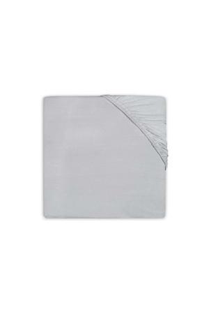 katoenen Hoeslaken badstof 60x120cm soft grey
