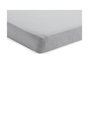 katoenen Hoeslaken jersey 60x120cm soft grey