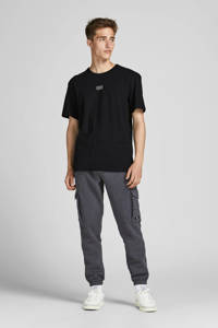 JACK & JONES CORE T-shirt JCOCLASSIC met logo zwart, Zwart