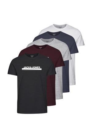 T-shirt JJRARRY - (set van 5)