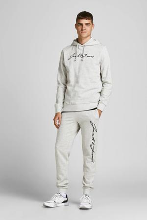 hoodie + joggingbroek JORFREDDIE light grey melange