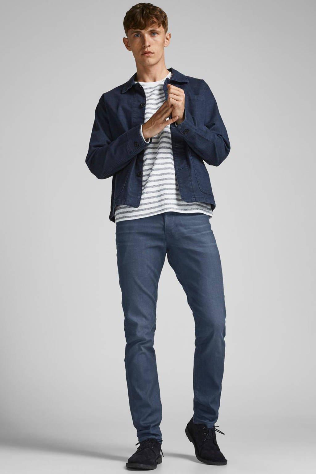 JACK & JONES JEANS INTELLIGENCE slim fit jeans JJITIM JJCLASSIC blue denim, Blue denim