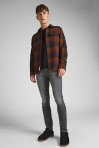 JACK & JONES JEANS INTELLIGENCE skinny jeans JJILIAM JJORIGINAL grijs, Grijs