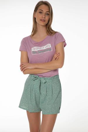 T-shirt Ordos roze