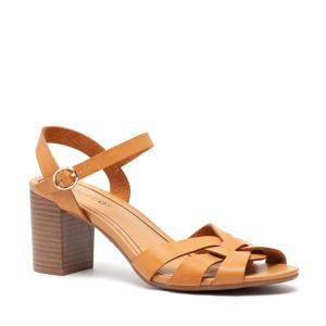 sandalettes bruin