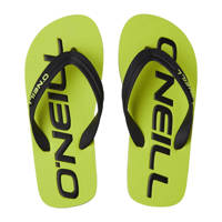 O'Neill Profile Logo Sandals  teenslippers geel/groen, Geel/groen