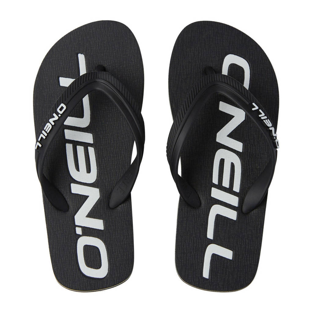 O'Neill Profile Logo Sandals  teenslippers zwart/wit, Zwart/wit