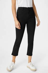 C&A Yessica cropped high waist skinny jeans zwart, Zwart
