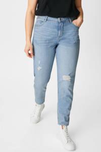 C&A XL Clockhouse mom jeans lichtblauw, Lichtblauw