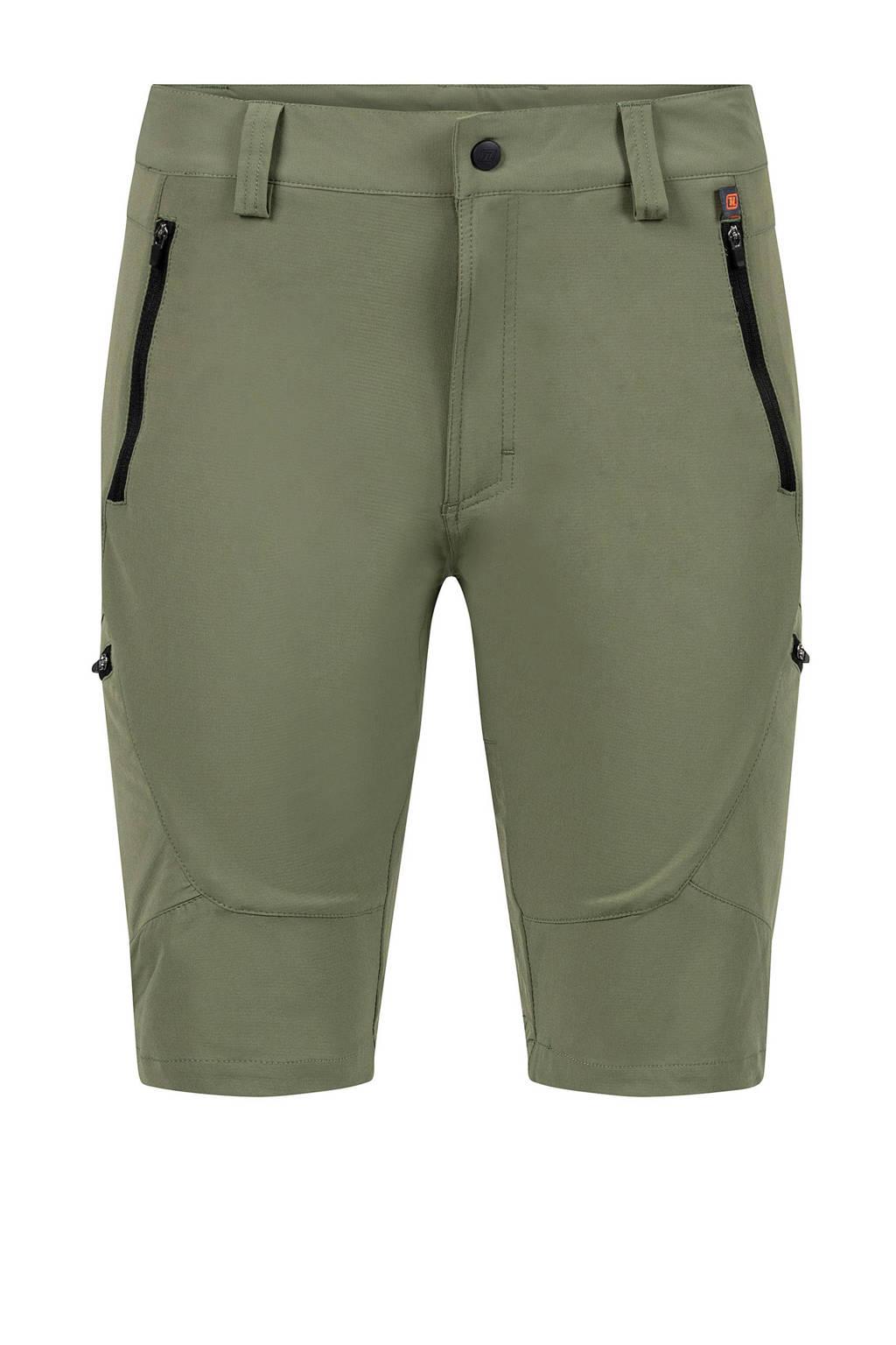 Life-Line korte outdoor broek Lionel olijfgroen, Olijfgroen