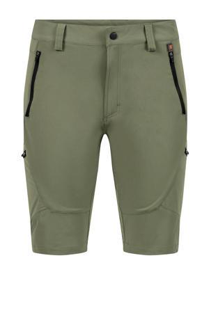 korte outdoor broek Lionel olijfgroen